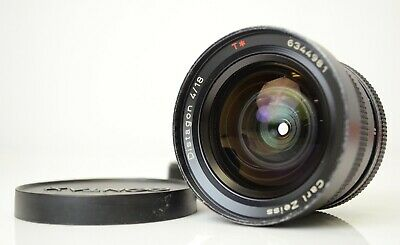 CONTAX Carl Zeiss Distagon 18mm f/4 T* AEG MF Lens [SOLD AS IS] from Japan