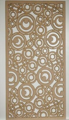 Radiator Cabinet Decorative Screening Perforated 3mm&6mm thick MDF laser cut EK1