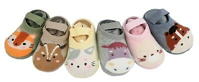 6 Pairs of Baby Boy Girl Thick Cotton Rich Anti-slip Gripper Animal Ankle Socks