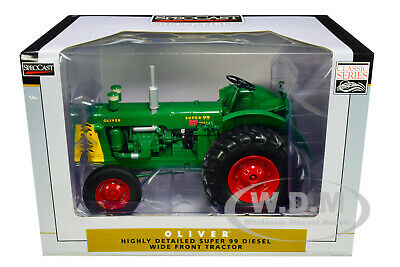 Oliver Super 99 Diesel Wide Front Tractor 1/16 Diecast Model By Speccast Sct735