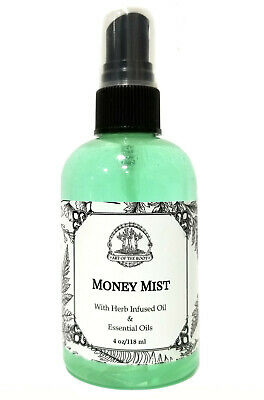 Money Mist Spray Cash Wealth Abundance Prosperity Hoodoo Voodoo Wiccan Pagan