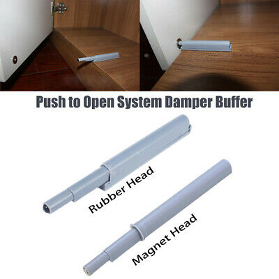 5-10 Push To Open System Damper Buffer With Rubber End For Door Cabinets Drawers