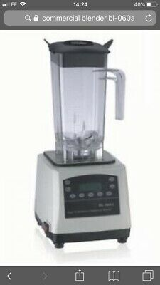Bl-060A 1500w Commerial Blender, High Speed, Smoothies In Seconds. Thick Shakes