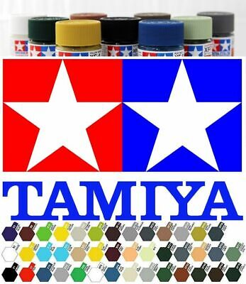 Tamiya Acrylic Paint All X and XF Colours. 10ml - ONE POSTAGE, UNLIMITED AMOUNT!