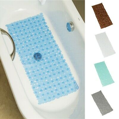 Non Slip Bathmat PVC Suction Cups Antiskid Pad Small Stone Home Floor Mat Soft