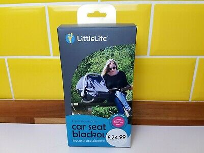BNIB LittleLife Baby Group 0+ Car Seat Blackout Shade Blind Universal Fit New