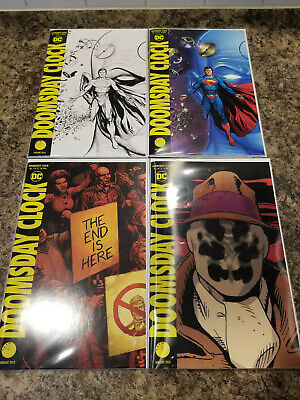doomsday clock comic covers