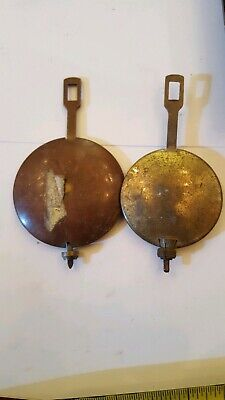 2 Useful Old German Bracket--Mantle Clock Pendulums Ref P.21
