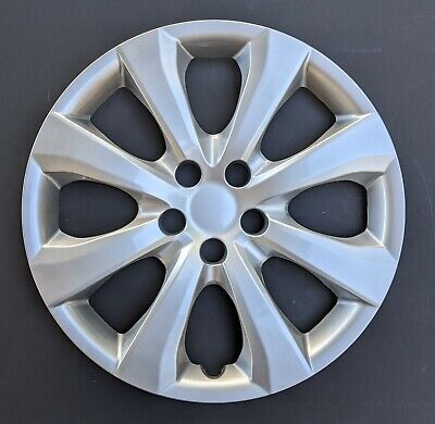 """One New Wheel Cover Hubcap Fits 2020 Toyota Corolla 16"""" Silver 8 Spoke"""
