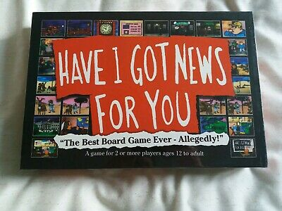HAVE I GOT NEW FOR YOU - Board Game - NEW & SEALED Hat Trick 2 Player Age 12+