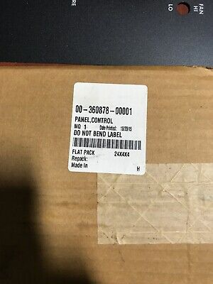 HONART CONVECTION OVEN OVERLAY 00-360878-00001. New