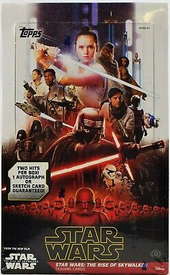 2019 Topps Star Wars The Rise Of Skywalker Hobby Box Factory Sealed New