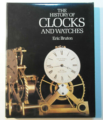 The History of Clocks and Watches Eric Bruton 2nd ed 1989 hardback vgc