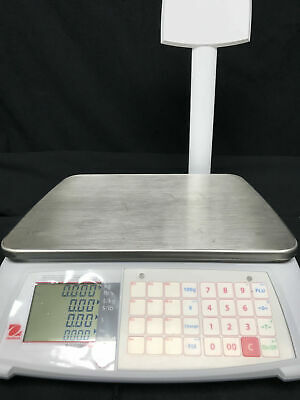 Ohaus, A71P15DTNUS, Price Computing Scale, 15 lb x 0.005 lb, NTEP, Open Box