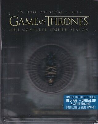Game Of Thrones Complete Eighth Season 4K Ultra Hd & Bluray & Digital Hd Box Set