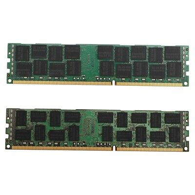 Certified Refurbished 4x8GB PC3-10600R 1333MHz DDR3 ECC Registered Memory Kit for a Dell PowerEdge T410 Server 32GB
