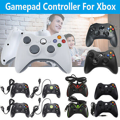 USB Wired/Wireless Gamepad Joypad Controller for Microsoft Xbox 360 Console
