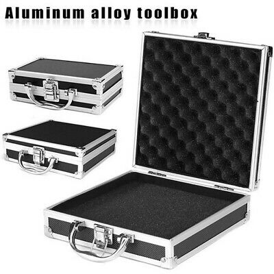 Aluminium Carry Case Tool Box Storage Organiser Travel Portable Toolbox size S/M