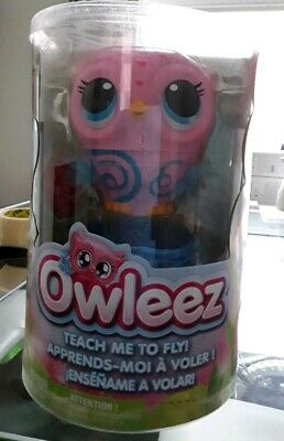 Owleez Flying Baby Owl Interactive Toy - Pink Brand New Fast Postage