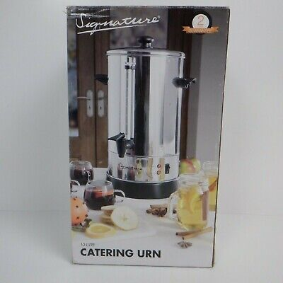 Signature Catering Urn, Hot Water, Tea/Coffe Dispenser, Stainless Steel, Auto an