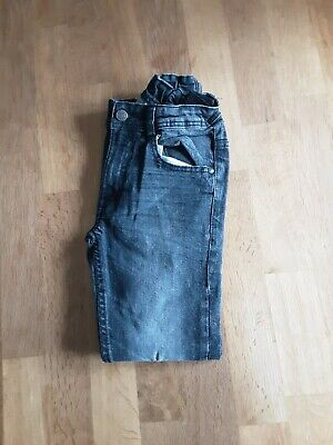 Boys Ripped Knee Jeans From George Age 8-9