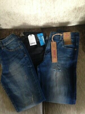 Boys Jeans Bundle Age 11 12 Next Blue Zoo F&F
