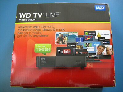 WD TV Live Media Player Full HD 1080p (Mint) (Boxed)