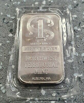 100g Total Sealed Northwest Territorial Mint .999 Fine Silver Bars 20 x 5g