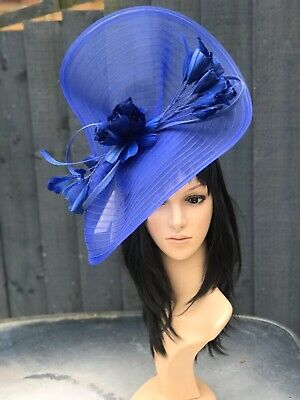 Peter Bettley Cobalt Blue Wedding Hatinator Hat Mother Of The Bride Formal