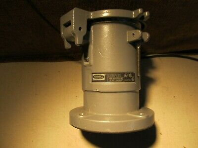 Hubbell Pin and Sleeve Receptacle HBL4200RS2WR   3P4W , 200AMP