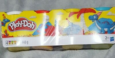 Play-Doh Classic Colur Tubs - 4 Pack