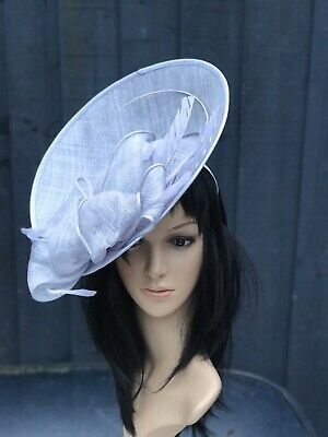 Suzanne Bettley Lilac Wedding Hat Disc Fascinator Formal