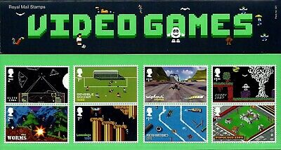 Gb 2020 Mint Video Games Presentation Pack 581 Stamps Sheet Retail Collector