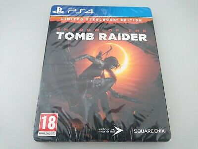 Shadow of the Tomb Raider   Steelbook Edition   Sony Playstation 4 PS4   PAL