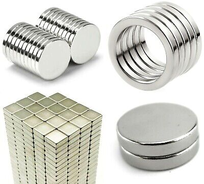 1off//4off Neodymium pot magnets 25mm dia x 8mm M5 threaded hole up to 20Kg