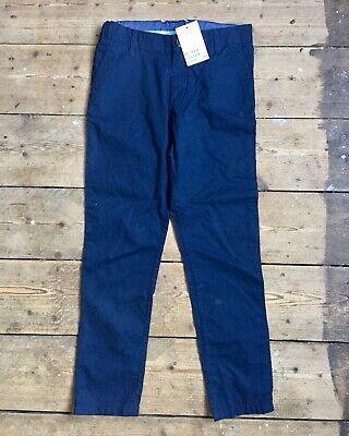 H&M Boys Blue Chinos Age 7-8 Years Trousers BNWT New