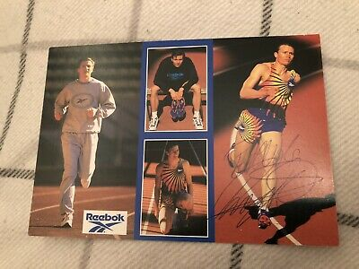 Roger Black (Olympics) Signed Publicity Card