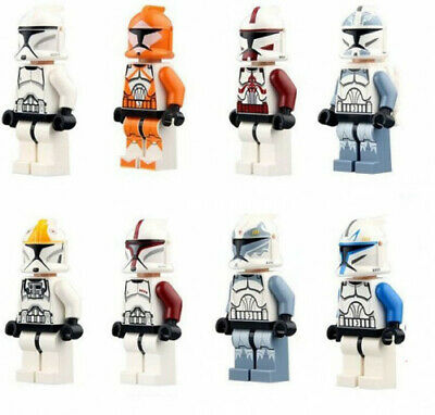 Authentic LEGO Star Wars Clone Wars Minifigures - Troopers, Officers - YOU PICK