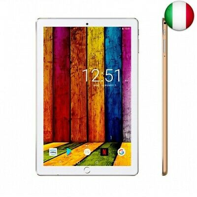 Tablet 10.1 Pollici 4G LTE/WiFi Android 9.0 offerte 32 GB  (4GWifi-Oro)