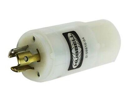 Hubbell Wiring HBL2274 Twist-Lock Convenience Adapter 125 Volt 2-Pole 3-Wire
