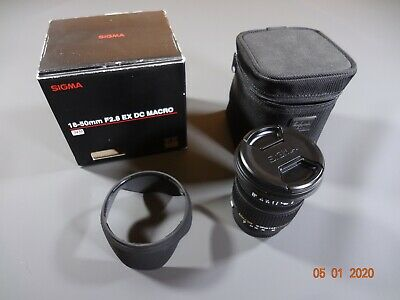 Sony A mount Sigma 18-50mm F2.8 EX DC Macro SLD Lens, Excellent Shape