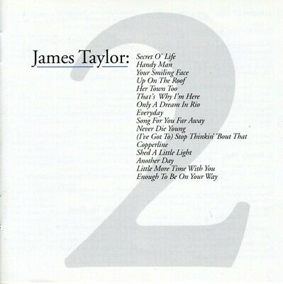 James Taylor - Greatest Hits, Vol. 2 [New CD]