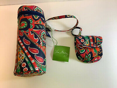 Vera Bradley Bottle Caddy-& Pacifier Caddy-Venetian Paisley