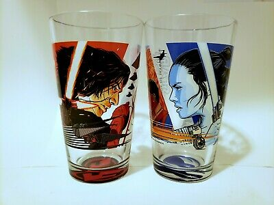 SET OF TWO Star Wars: The Rise Of Skywalker Alamo Drafthouse Pint Glass
