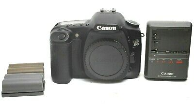 Excellent Canon 30D Digital SLR Camera Body With Two Batteries #30963