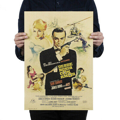Classic Action Movie//Kraft Paper/Bar Poster/Retro Poster/Decorative Nice