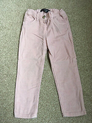 Pink Corduroy Toddler Kids Bottoms Trousers Size 2-3 Years Sparkly Sparkles