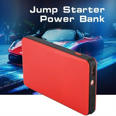 Portable 8000mAh Car Jump Starter Engine Battery Charger Booster Power Bank 12V