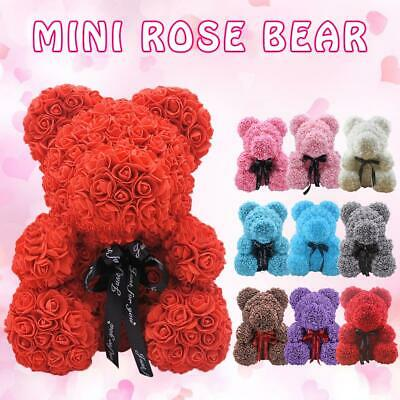 Artificial Rose Soap Foam Bear Odorless Soap Gift For Valentine's Day Pregnant