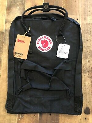Waterproof Sport Backpack Fjallraven Kanken Handbag School Travel Bag BLACK £80